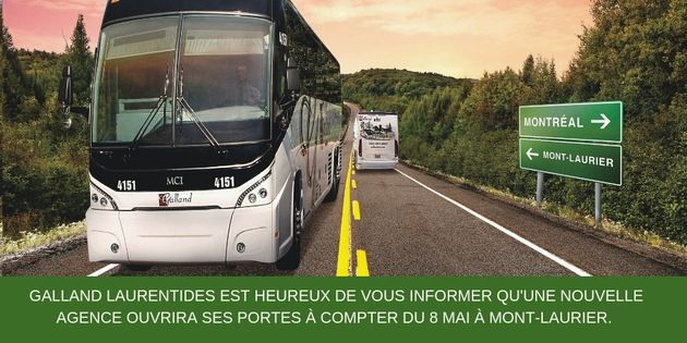 NEW POINT OF SALE IN MONT-LAURIER | Autobus Galland